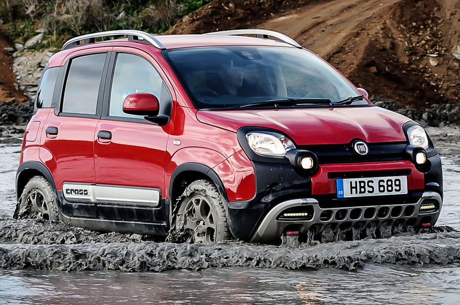 Fiat Panda Cross 1.3 MultiJet UK first drive review