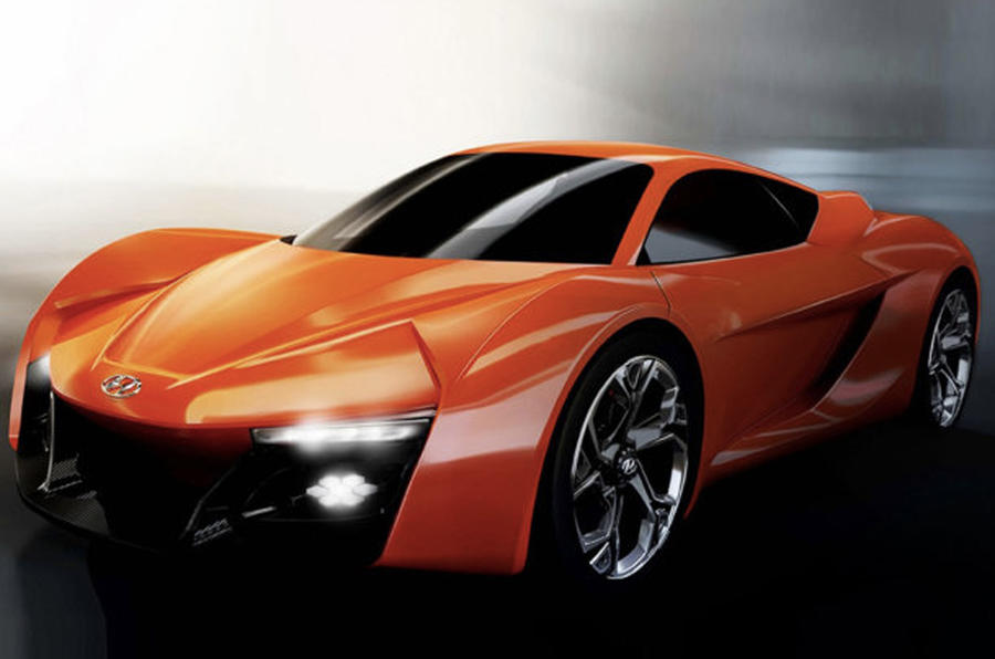 Students design new Hyundai sports car for Geneva