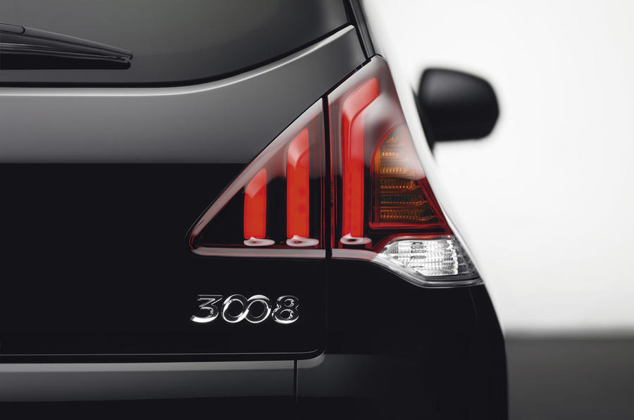 Revised Peugeot 3008 unveiled