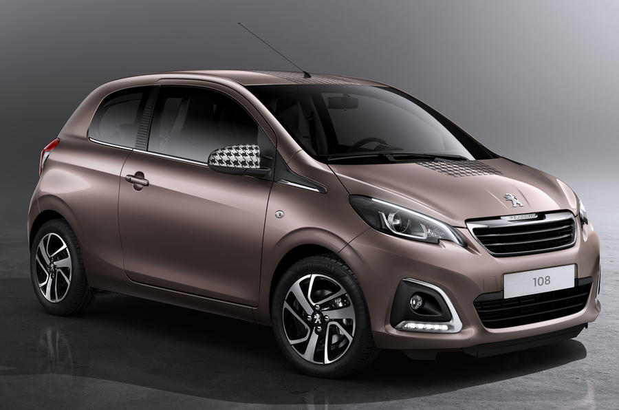 new peugeot 108 priced from 8245 autocar. Black Bedroom Furniture Sets. Home Design Ideas