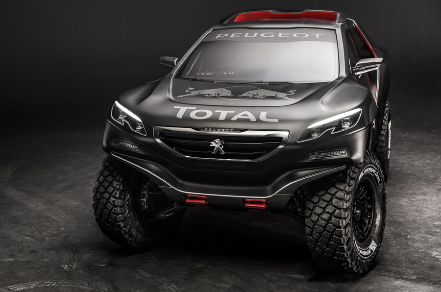 Peugeot reveals 2008-based Dakar Rally challenger