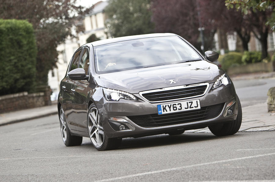 Peugeot 308 1.6-litre e-HDi UK first drive review