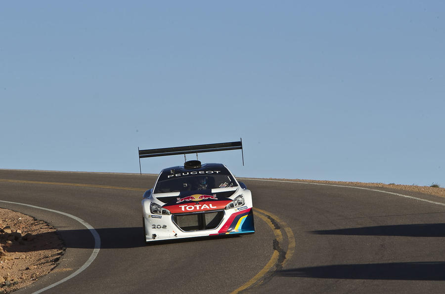 Loeb and Peugeot smash Pikes Peak record