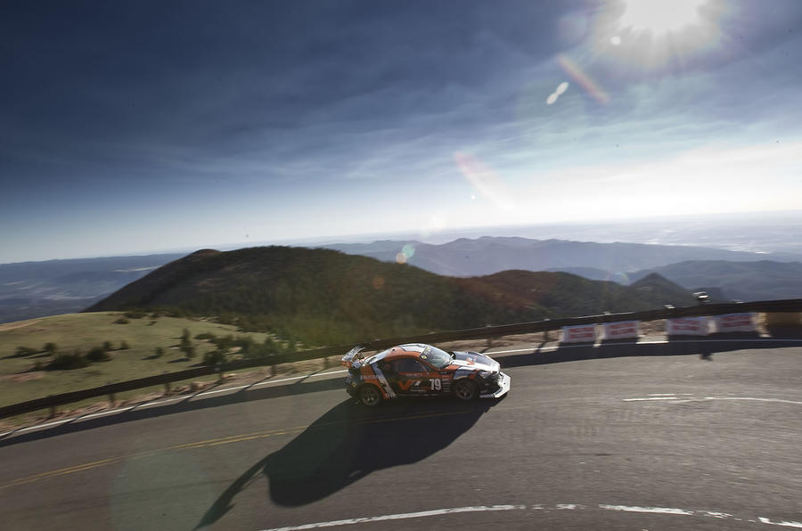 Live from Pikes Peak: Loeb leading the pack