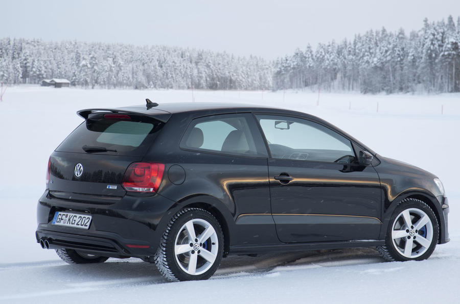 volkswagen polo r prototype first drive. Black Bedroom Furniture Sets. Home Design Ideas