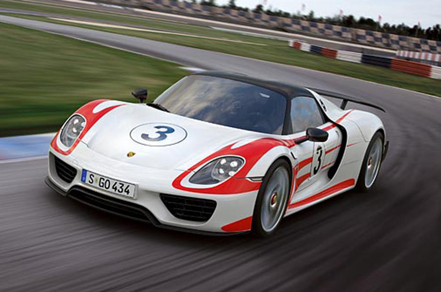 porsche 918 spyder unveiled autocar. Black Bedroom Furniture Sets. Home Design Ideas