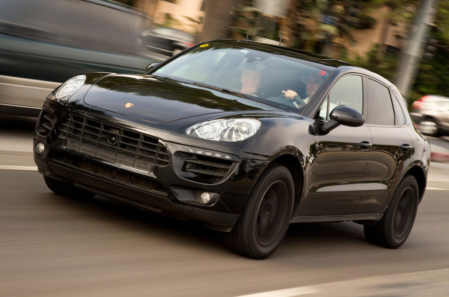 New Porsche Macan 4x4 First Ride
