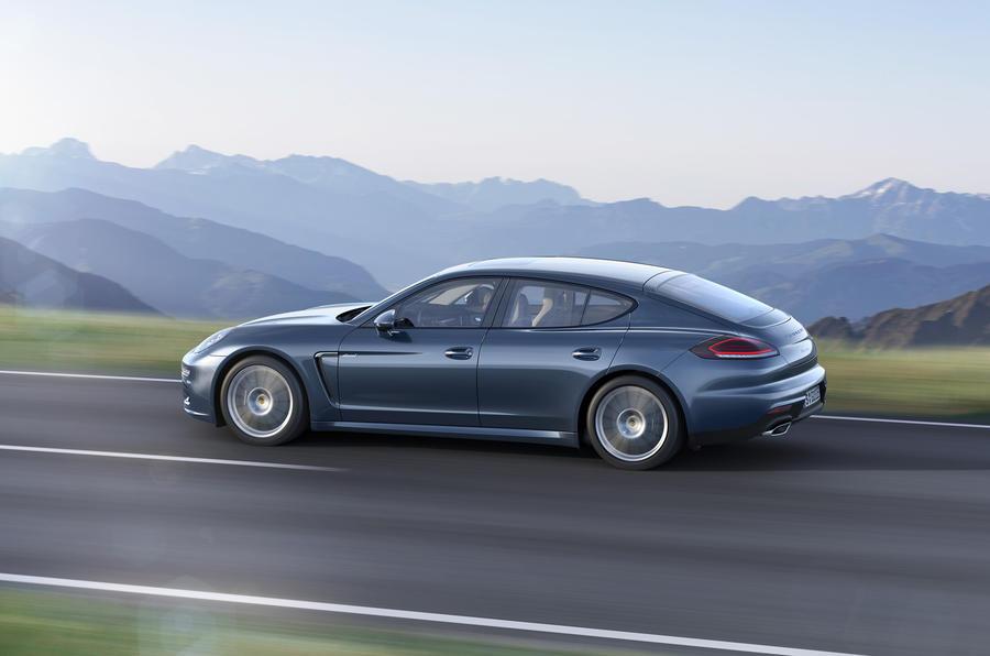Facelifted Porsche Panamera diesel revealed