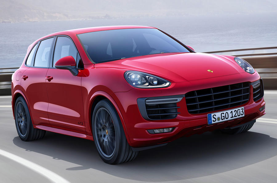 Porsche reveals go-faster Cayenne GTS ahead of LA motor show