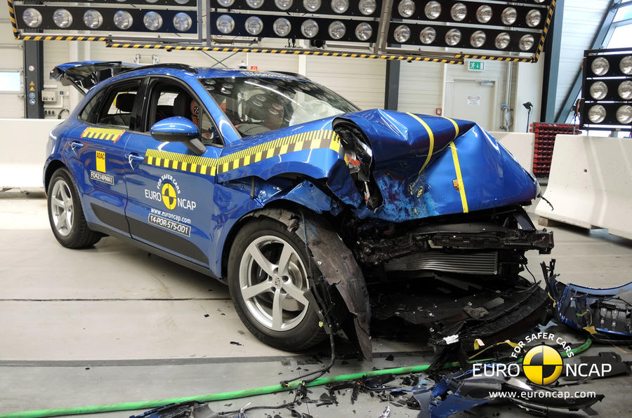 Porsche Macan scores top rating in latest Euro NCAP crash test results