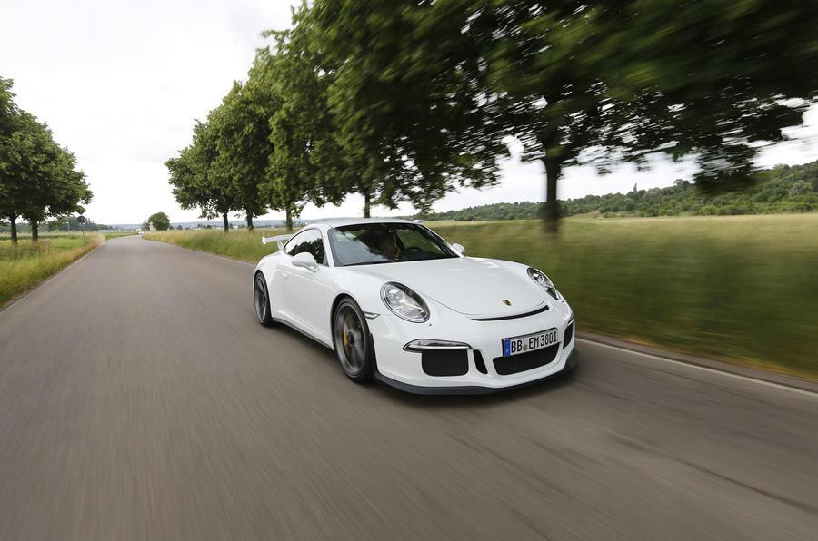 Porsche 911 GT3 front quarter
