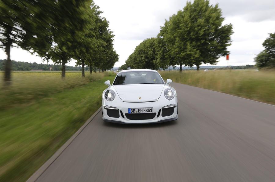Porsche 911 GT3 front end