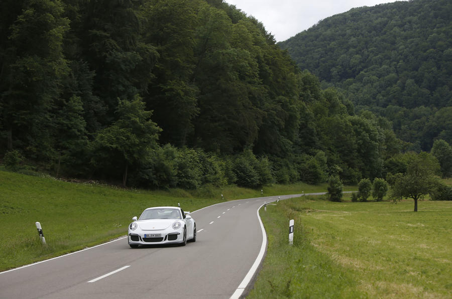 Porsche 911 GT3 front on