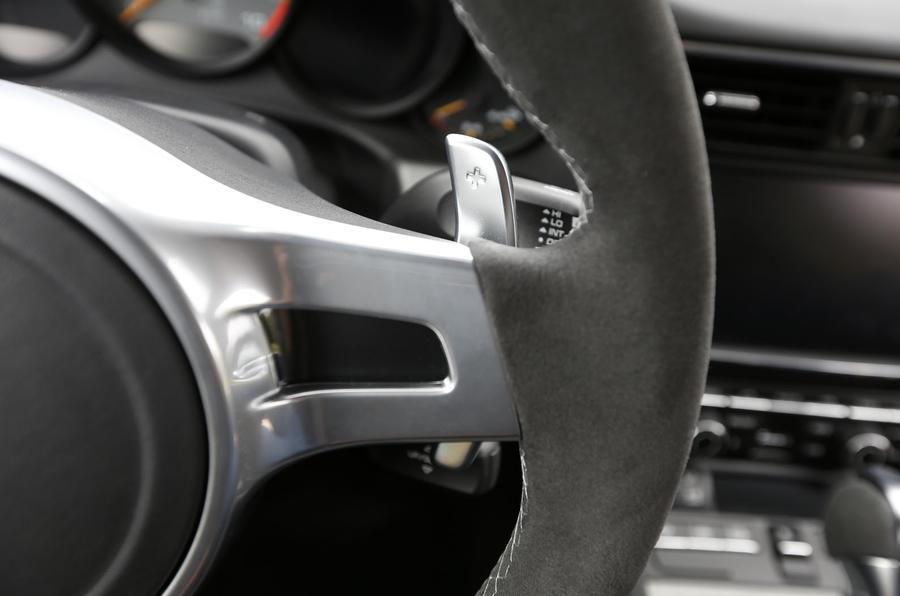 Porsche 911 GT3 flappy paddles