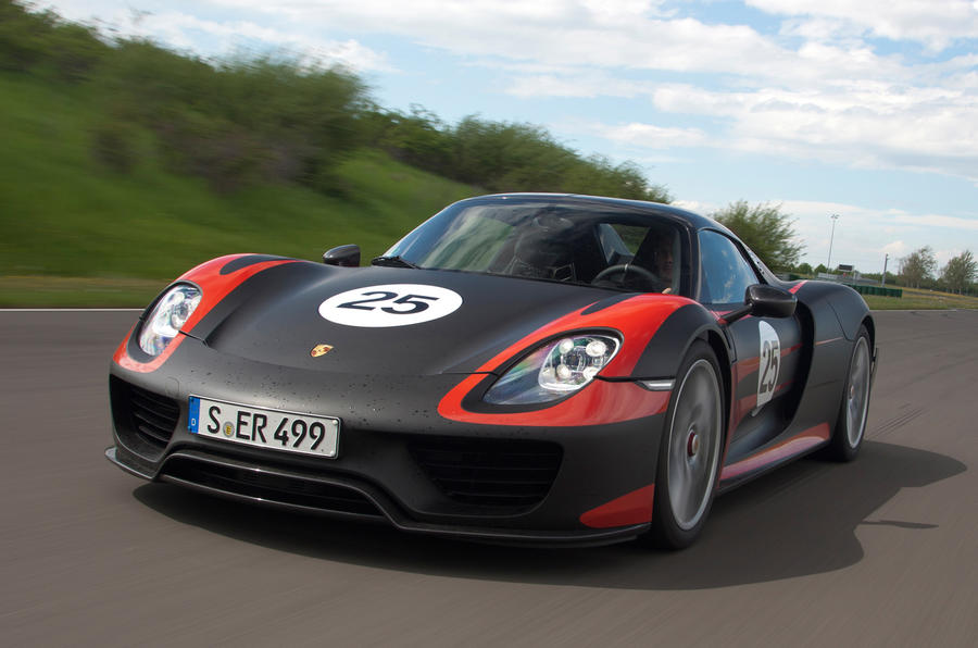 Porsche 918 Spyder confirmed for Frankfurt debut
