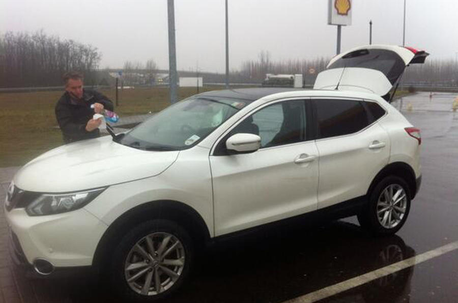 Nissan Qashqai from Sunderland to Istanbul, day six