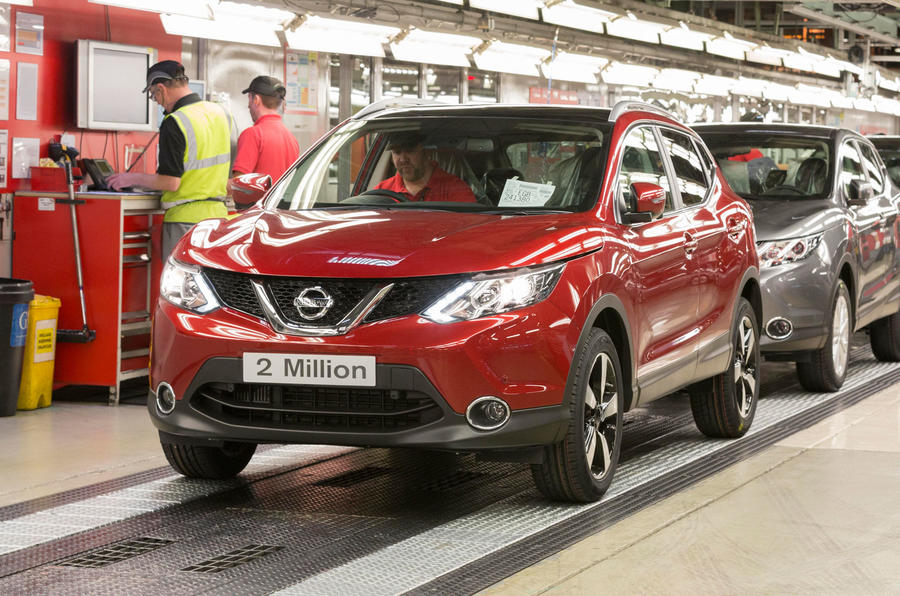 Nissan produces two millionth Qashqai