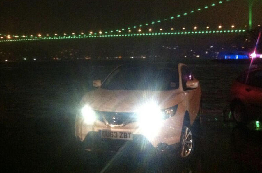 Nissan Qashqai from Sunderland to Istanbul, day eight