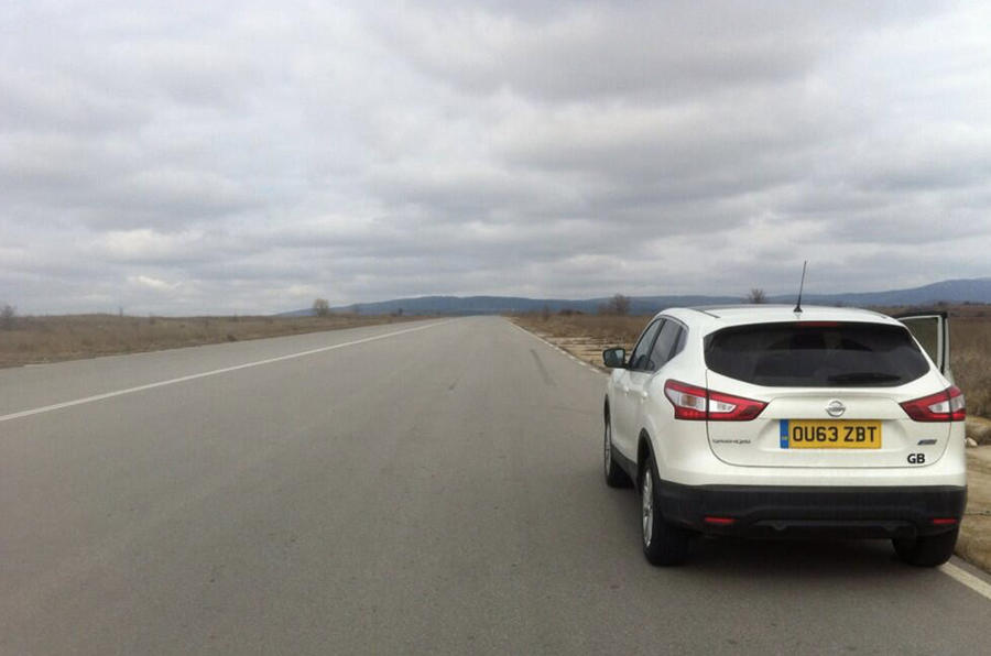 Nissan Qashqai from Sunderland to Istanbul, day nine