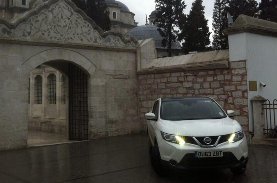 Nissan Qashqai from Sunderland to Istanbul, day seven