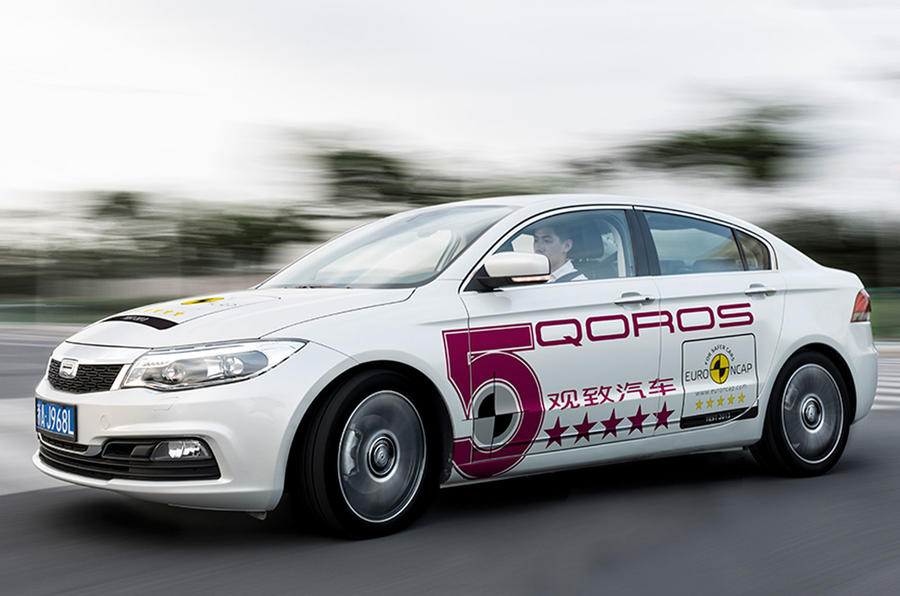 Qoros 3 achieves highest Euro NCAP score of 2013