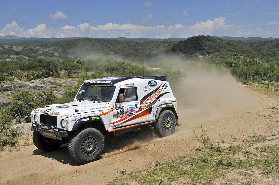 Land Rover continues Race2Recovery sponsorship