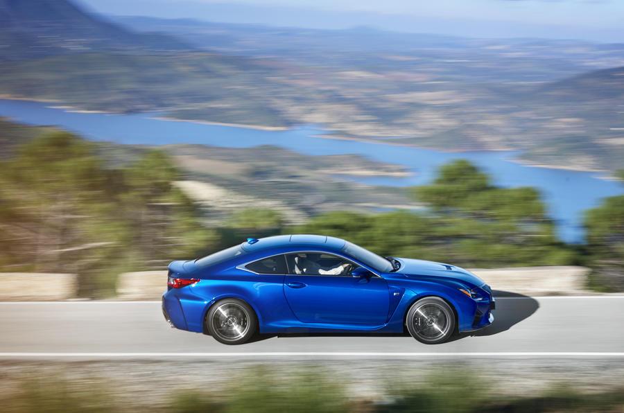 471bhp Lexus RC F