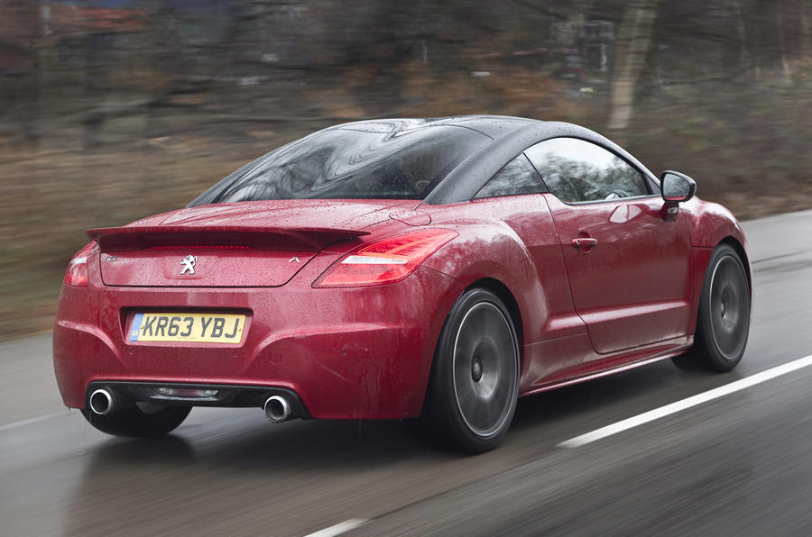 Peugeot RCZ R rear quarter