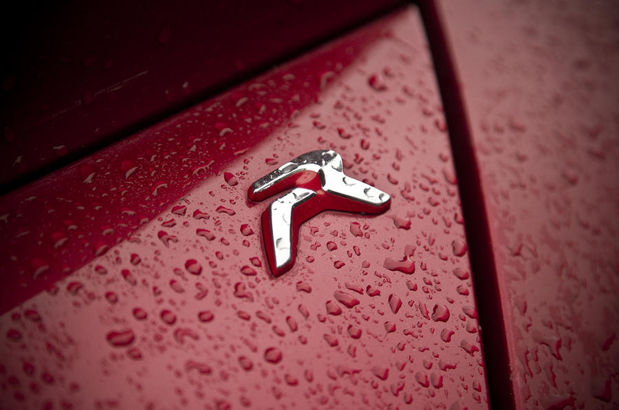 Peugeot RCZ R badge
