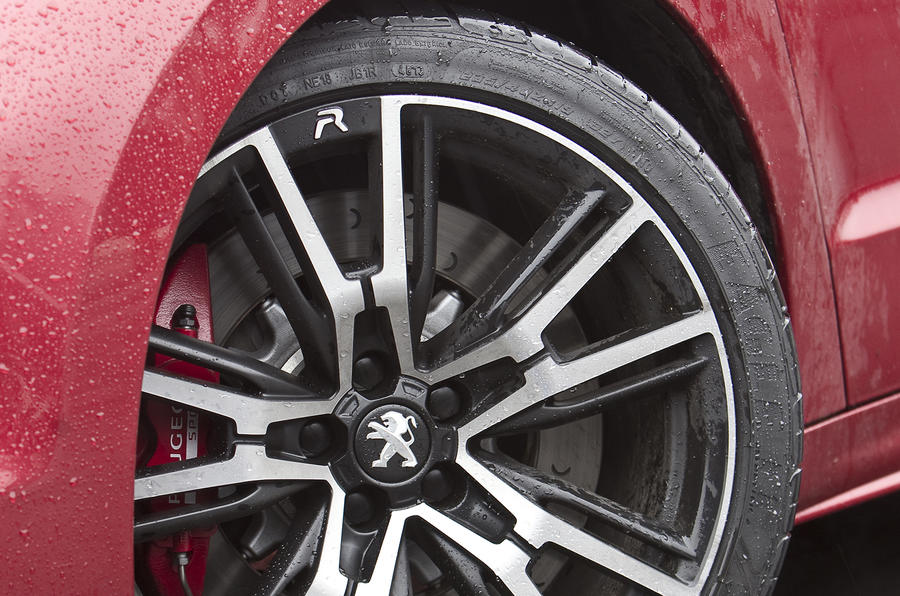 19in Peugeot RCZ R alloy wheels