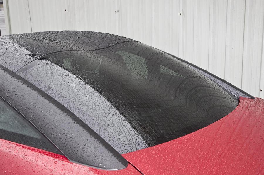 Peugeot RCZ R matte black roof
