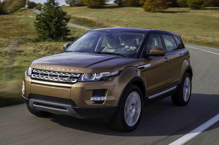 Range Rover Evoque production set for India