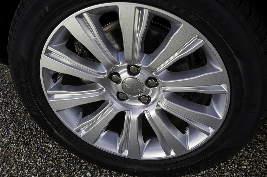 17in Range Rover Evoque SI4 Dynamic alloy wheels