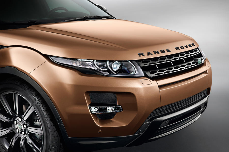Revised Range Rover Evoque for 2014