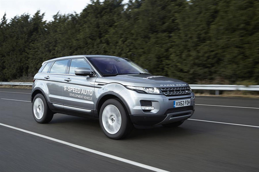 Range Rover Evoque nine-speed automatic first drive review | Autocar