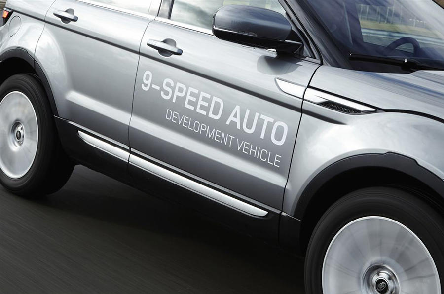 Nine speed automatic decals