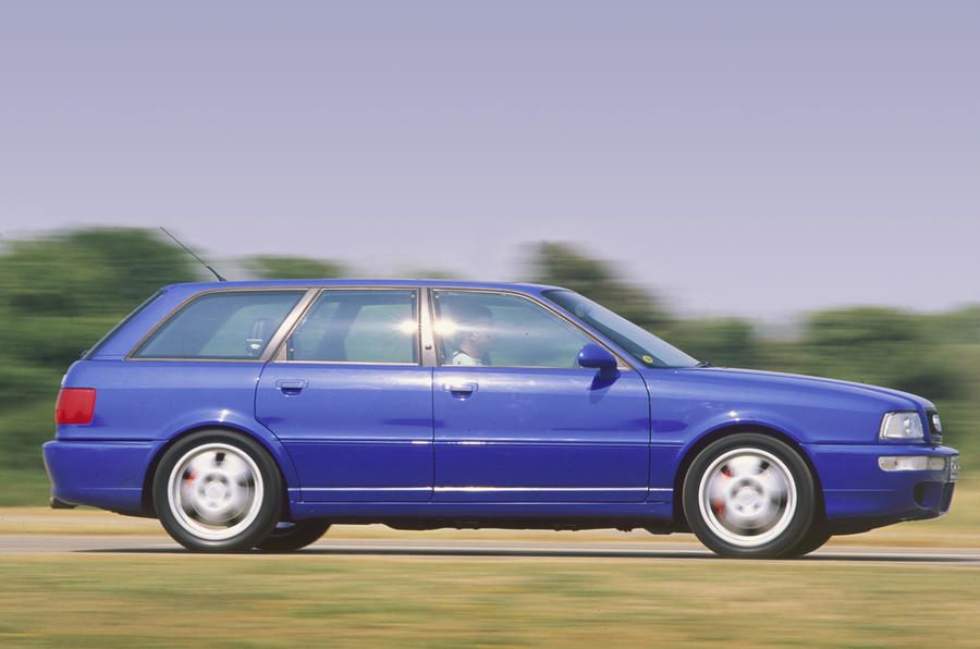 History of the Audi RS2 - picture special