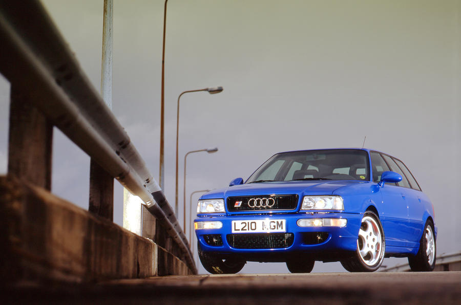 Audi celebrates RS2 with new RS4 Avant special edition