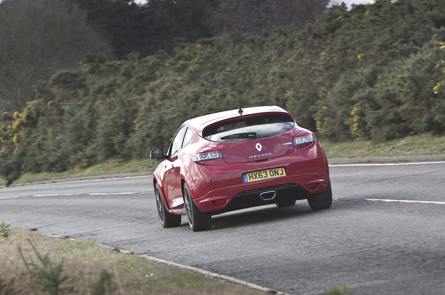 Renault Megane RS rear quarter