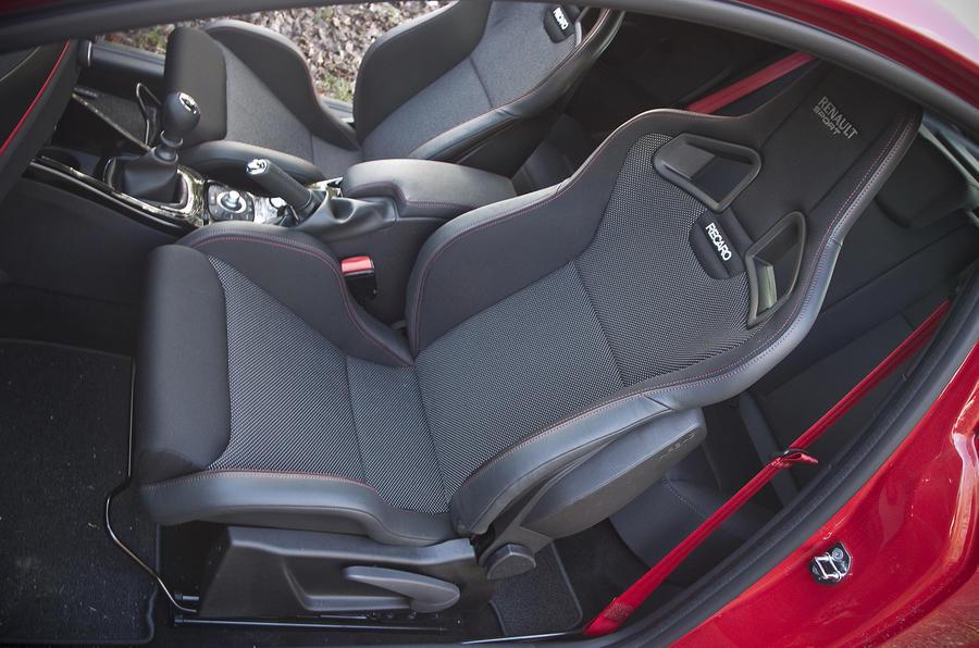 Renault Megane RS sport seats