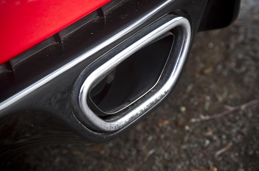 Renault Megane RS single exhaust