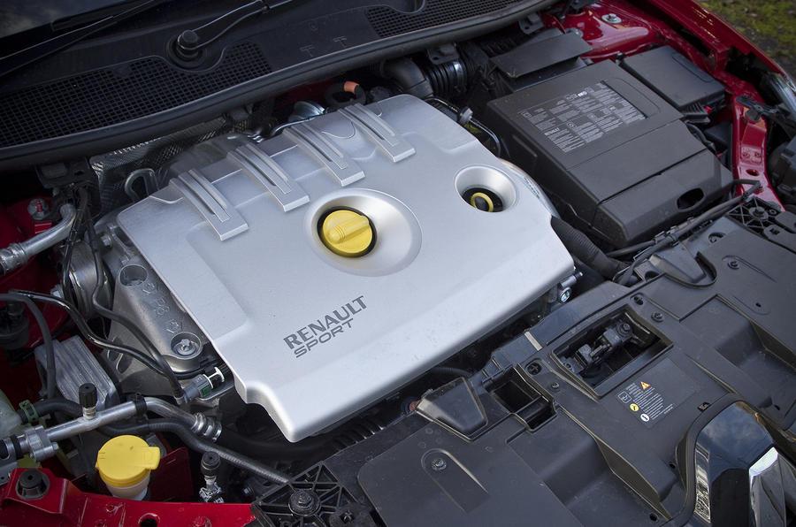2.0-litre Renault Megane RS engine
