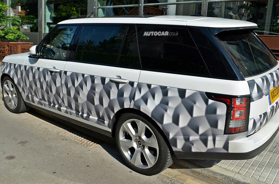 Range Rover long-wheelbase spotted