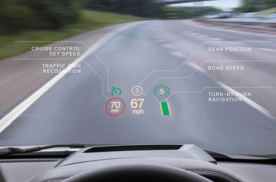 JLR to offer world-first laser HUD tech on Range Rover Evoque
