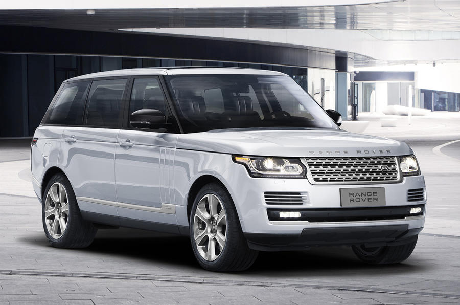 Land Rover launches LWB Range Rover Hybrid in Beijing