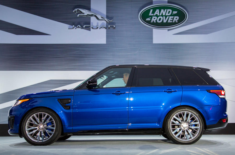 2015 range rover sport svr new pictures and passenger ride autocar. Black Bedroom Furniture Sets. Home Design Ideas