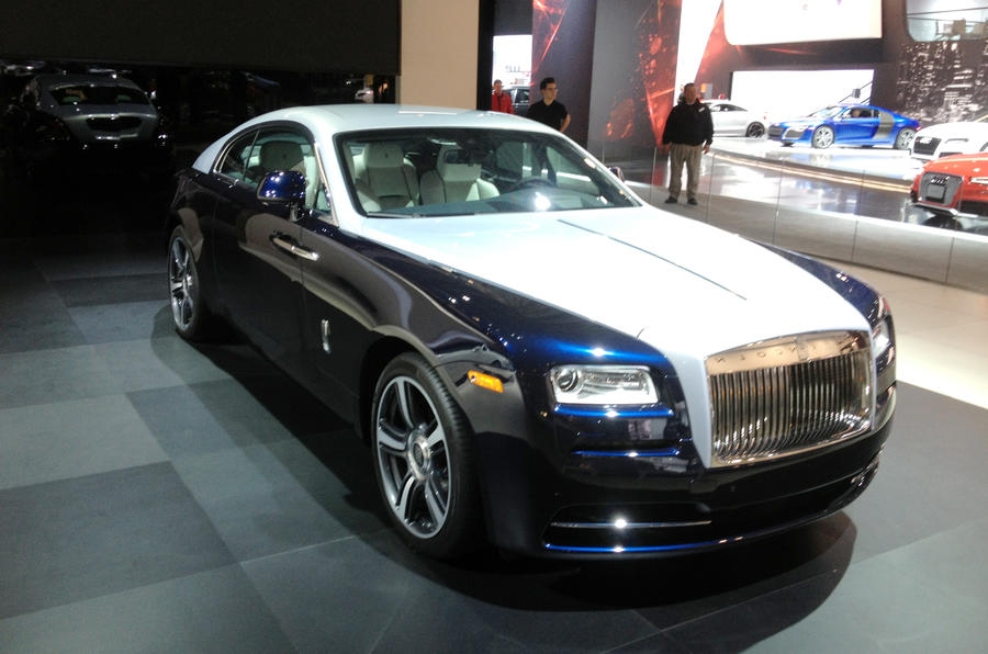 New York motor show: Rolls-Royce Wraith