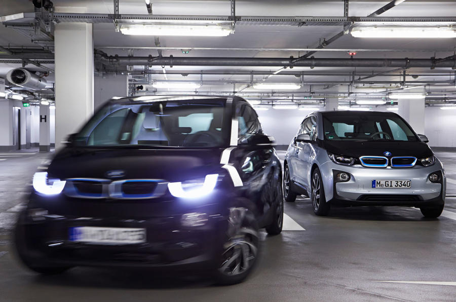 Innovative BMW39s Autonomous I3 Concept Can Find Its Own Parking Spot Park Itself