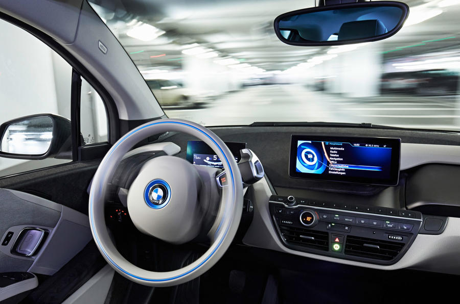 BMW reveals new autonomous driving technology