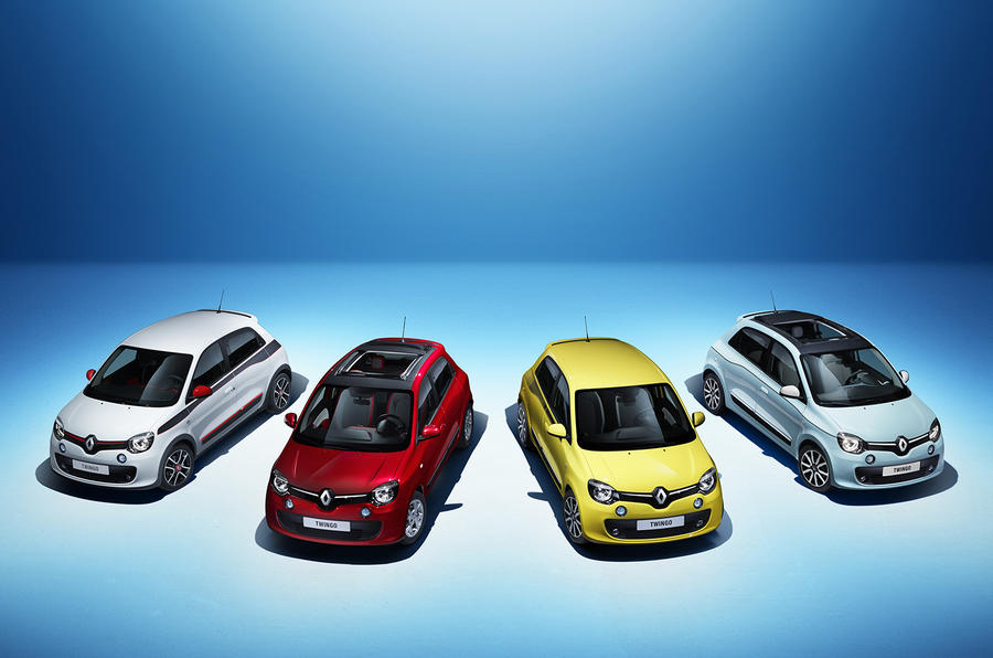 New Renault Twingo revealed at Geneva motor show